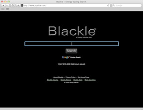 Blackle - Energy Saving Search